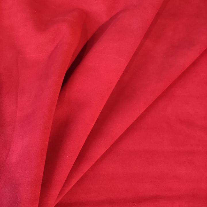 Кожа Велюр 1,4 мм Красный Белоруссия