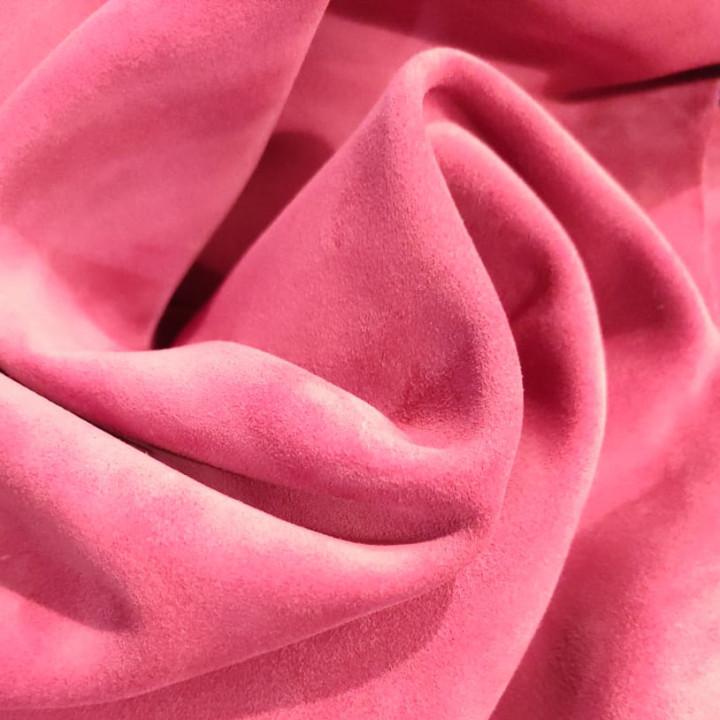 Кожа велюр 1,4-1,5 мм Розовый
